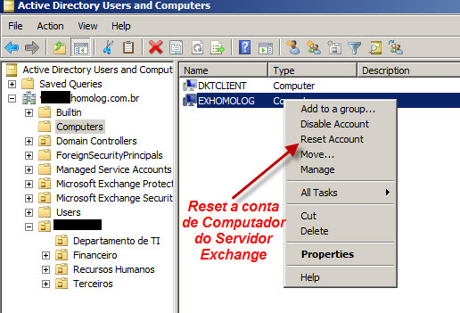 Disaster Recovery de Exchange Server 2010 desvendando os seus segredos! (2/6)