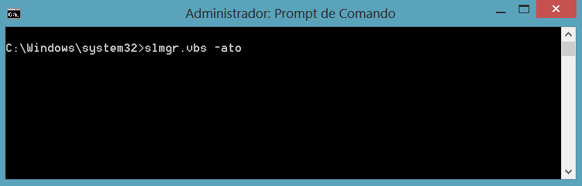 Como alterar a chave de ativação (Product Key) do Windows 8 (3/3)